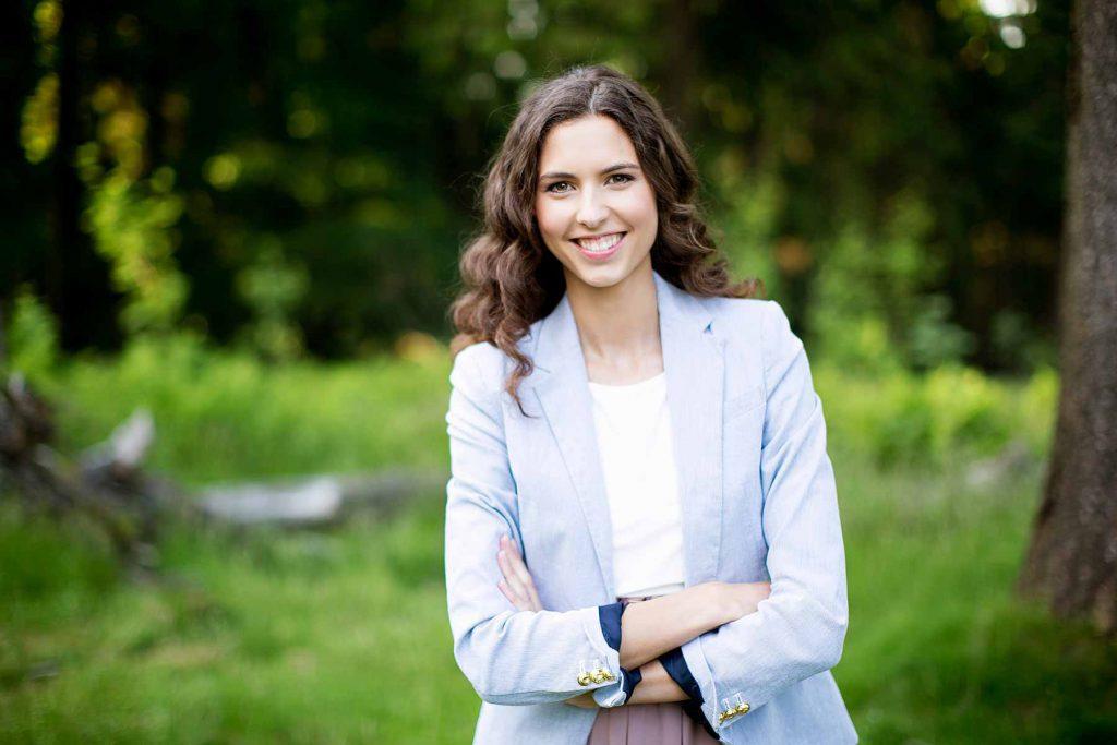 Persönliches Profil von Sabrina Adams